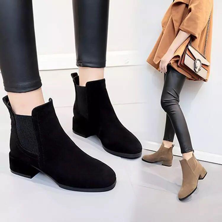 low heel ankle boots soft sole boots