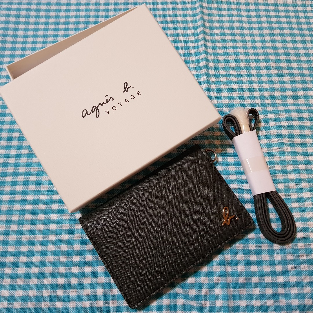 f862fd6ef920 Agnes B Voyage Card Holder with Lanyard, Women's Fashion, Bags ...