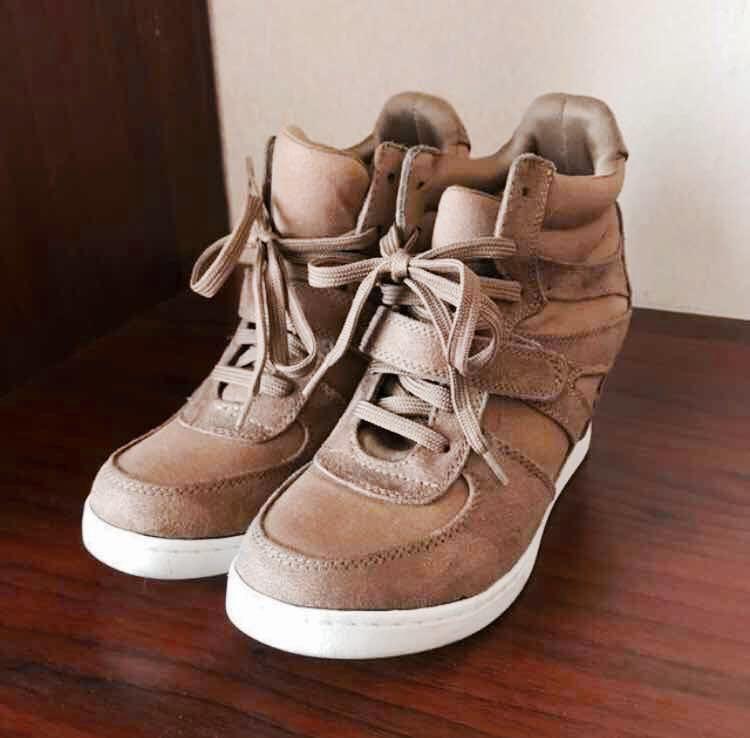 Airwalk Wedges Sneakers Brown c361de1fb624
