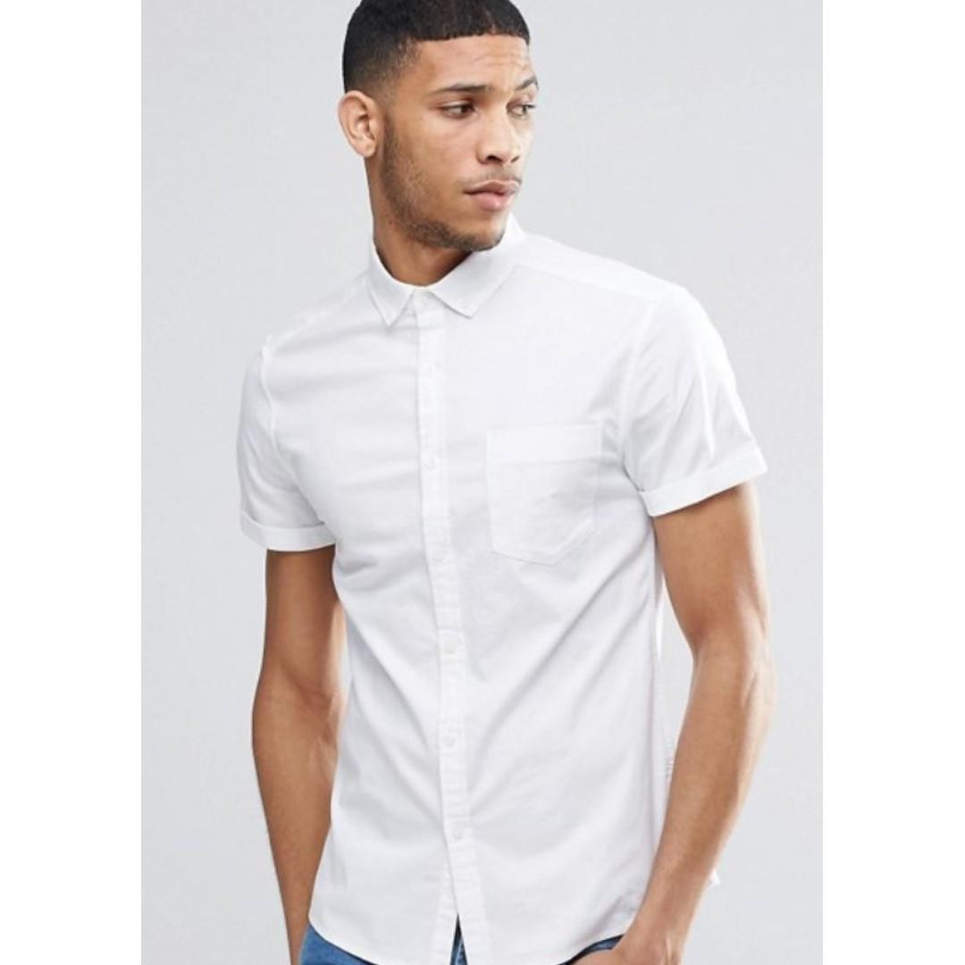 9ab8f783b3f2 White T Shirt Mens Asos