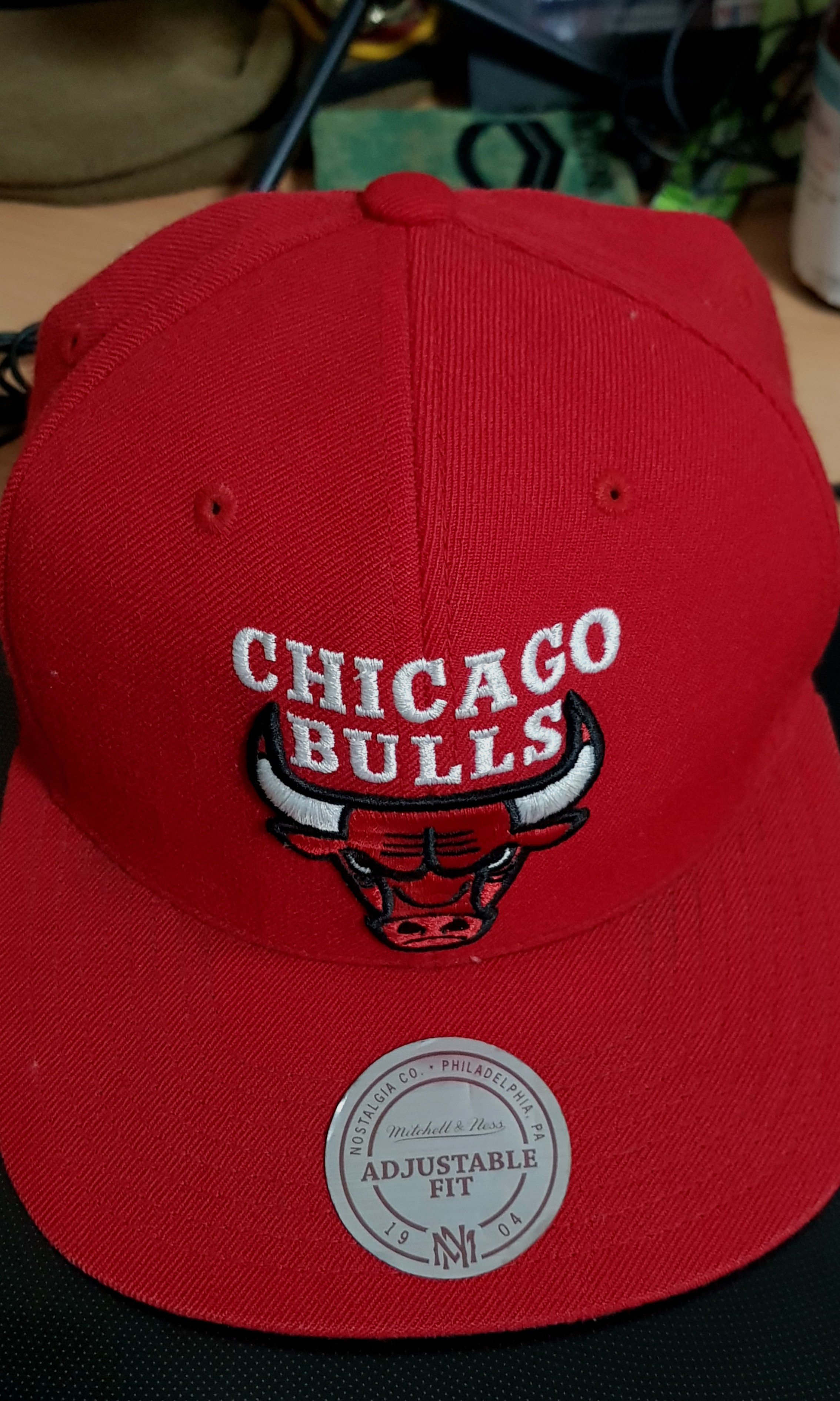 c5d7721394a Authentic Chicago Bulls Snapback