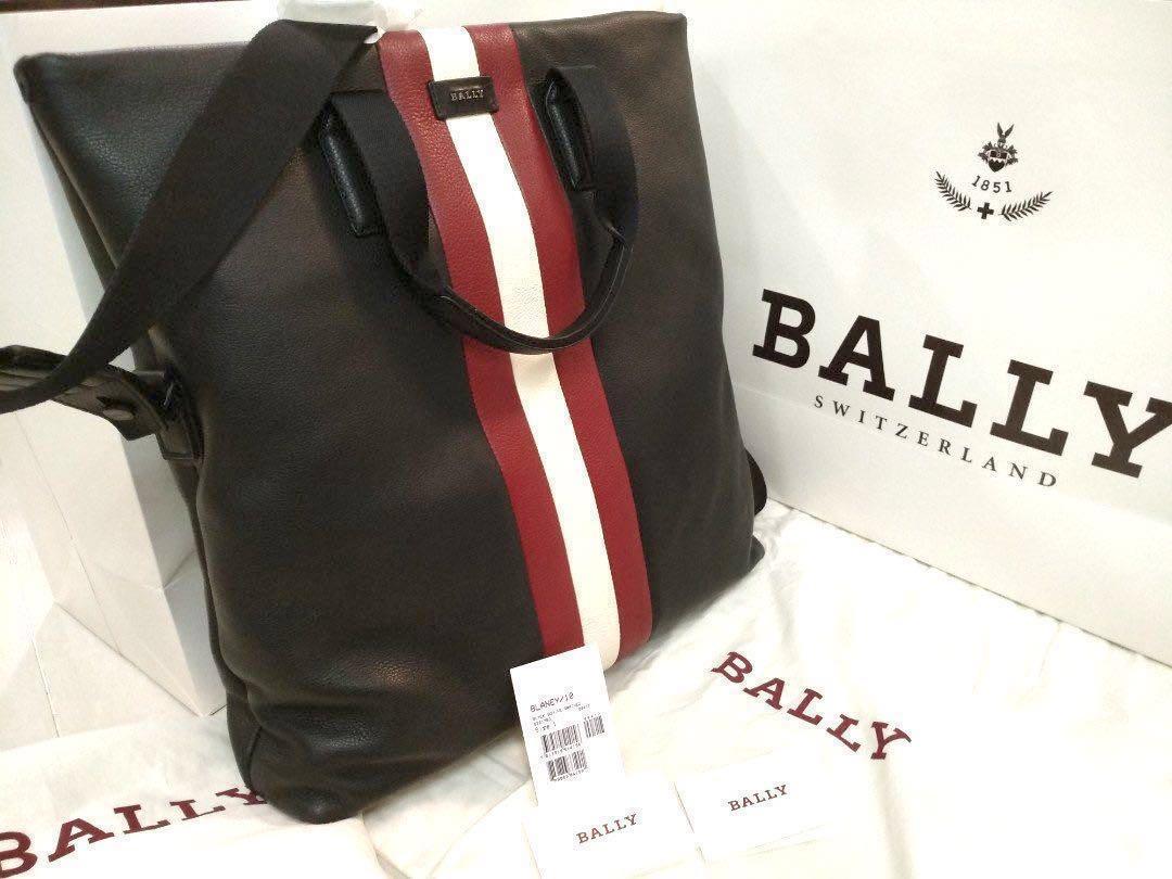 Bally Blaney 10 Black Bovine Grained 6221763 Mens Bag 5b1c0bf8b5fbe