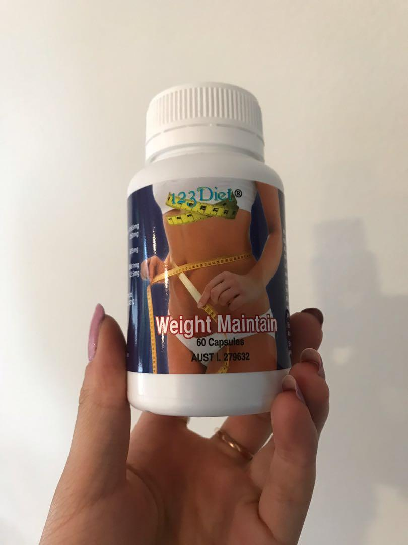 BOTH 123diet weight loss drops AND weight maintain tablets