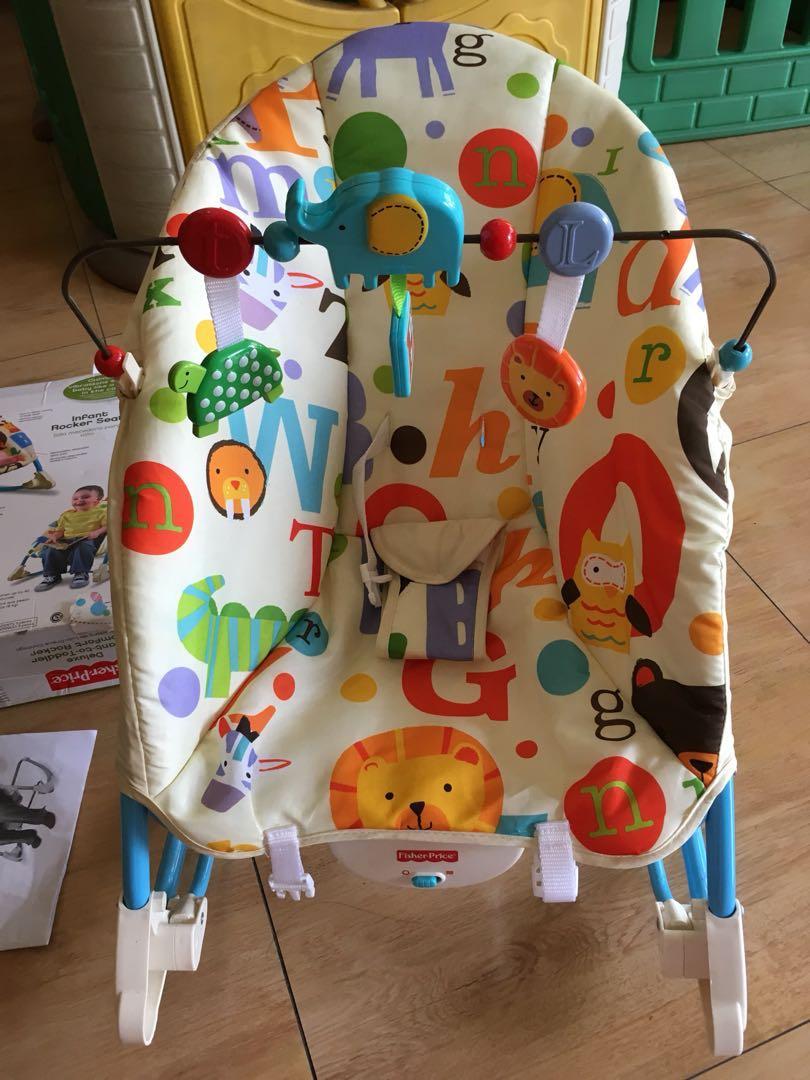 da38da5722bb3 Bouncer FISHER PRICE Deluxe Infant To Toddler Comfort Rocker, Babies ...