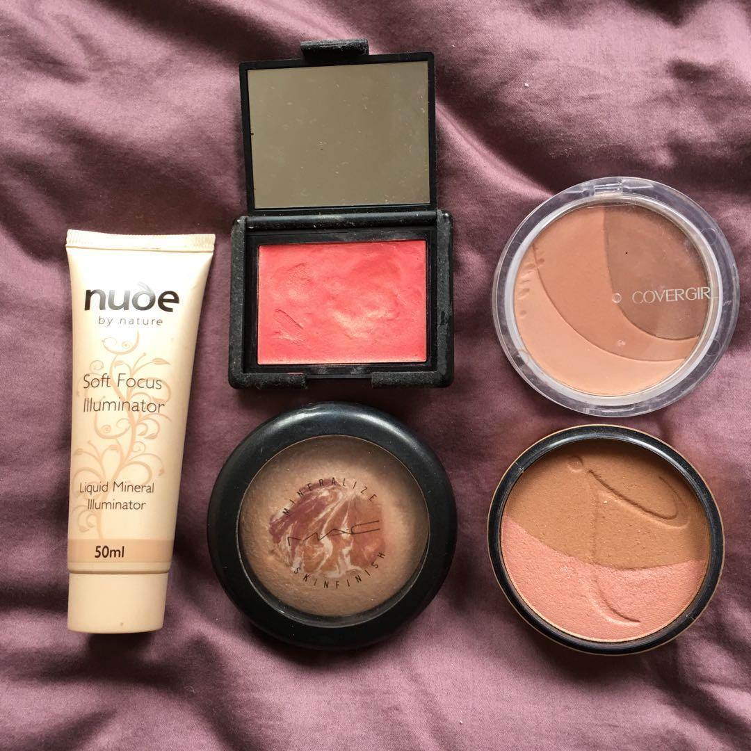 Bundle mixed makeup !!! Mac mineralise skin finish