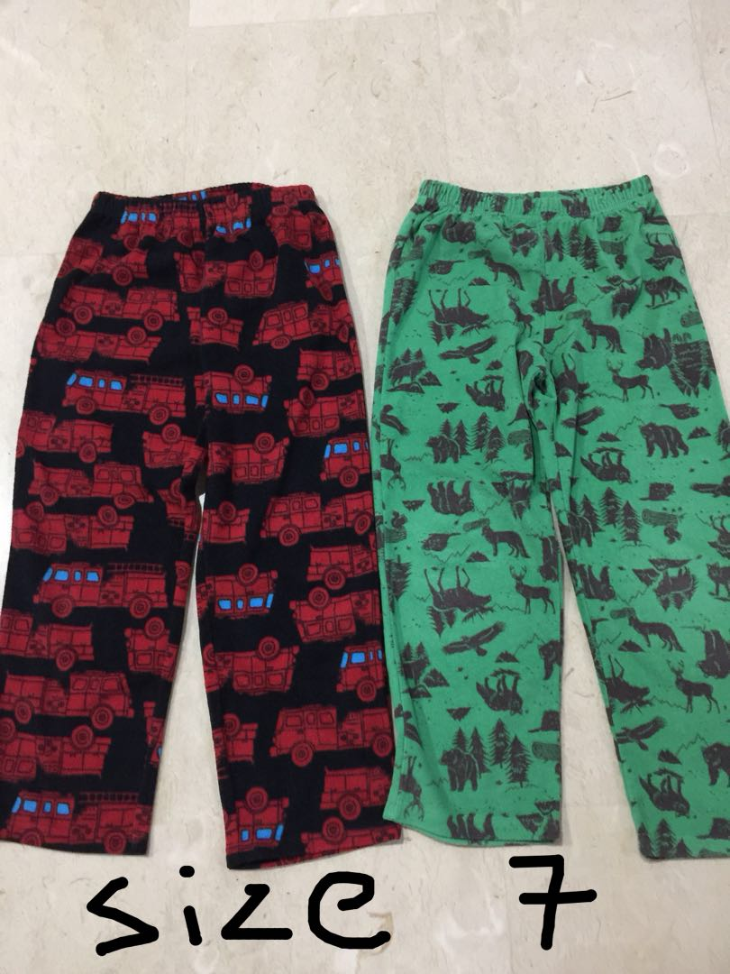 7e9e3f3121 Carter fleece pants size 7 for boys