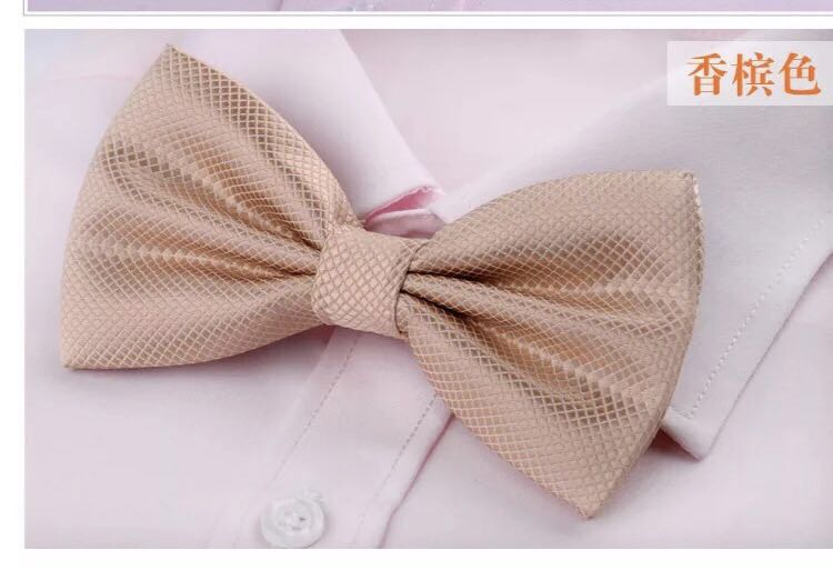260ce1454435 Champagne bow tie, Men's Fashion, Accessories, Ties & Formals on ...