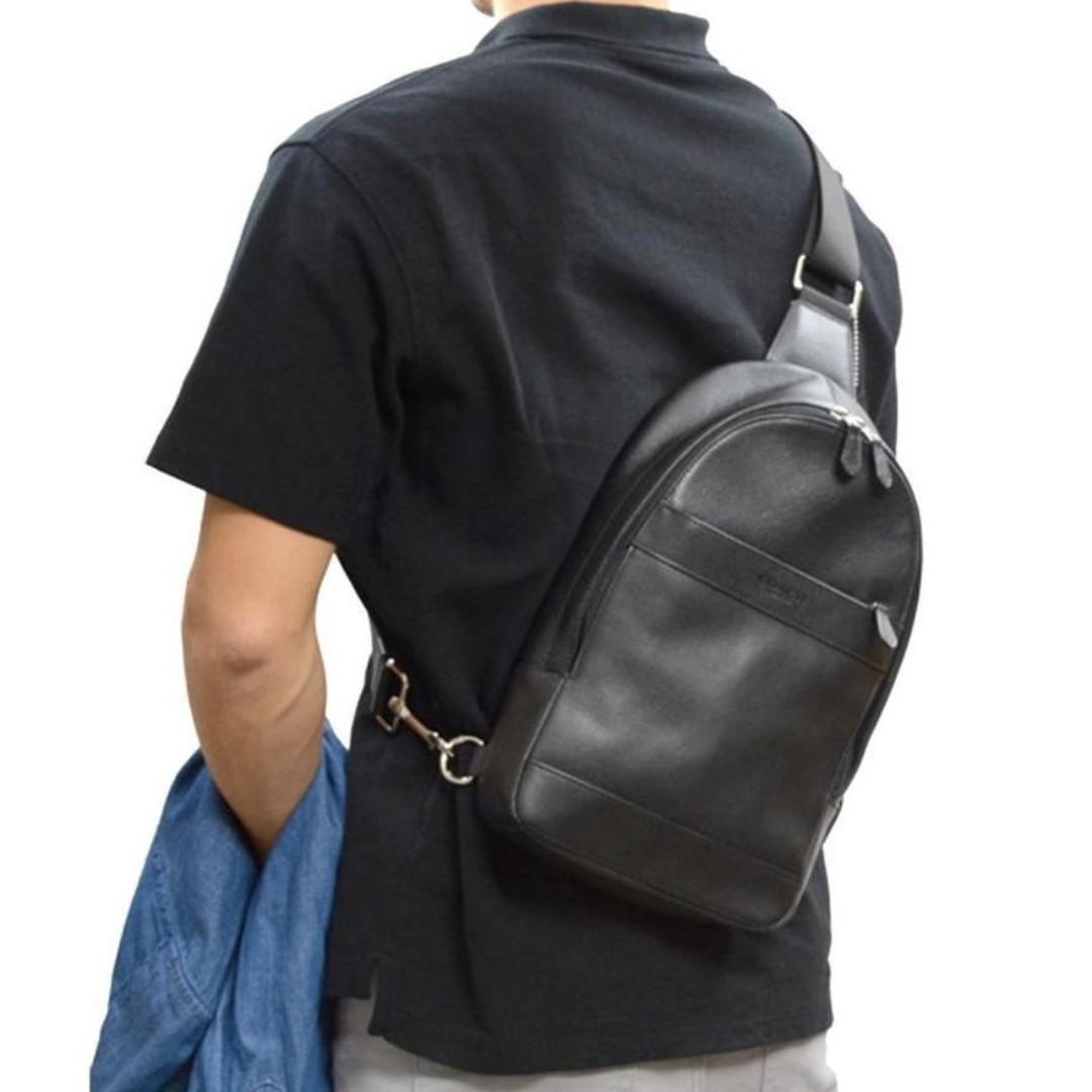 a9dd3d69ee93 Coach Men Charles Sling Pack Bag   男胸部