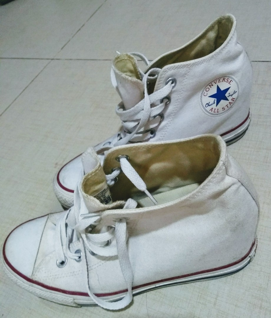 6cea14e527af Authentic Converse Wedge High cut
