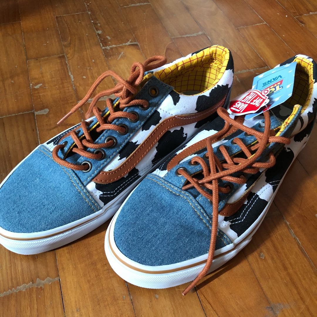 d64df16dc0 Disney Pixar Toy Story Vans Sneaker Collab Old Skool Woody Denim ...