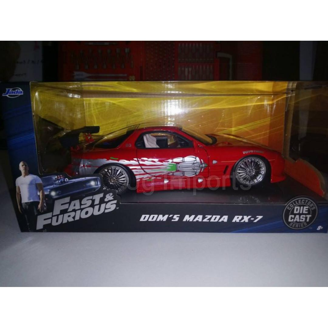 JADA 1:24 FAST AND FURIOUS DIECAST BNIB  VARIOUS VEHICLES LOT 1