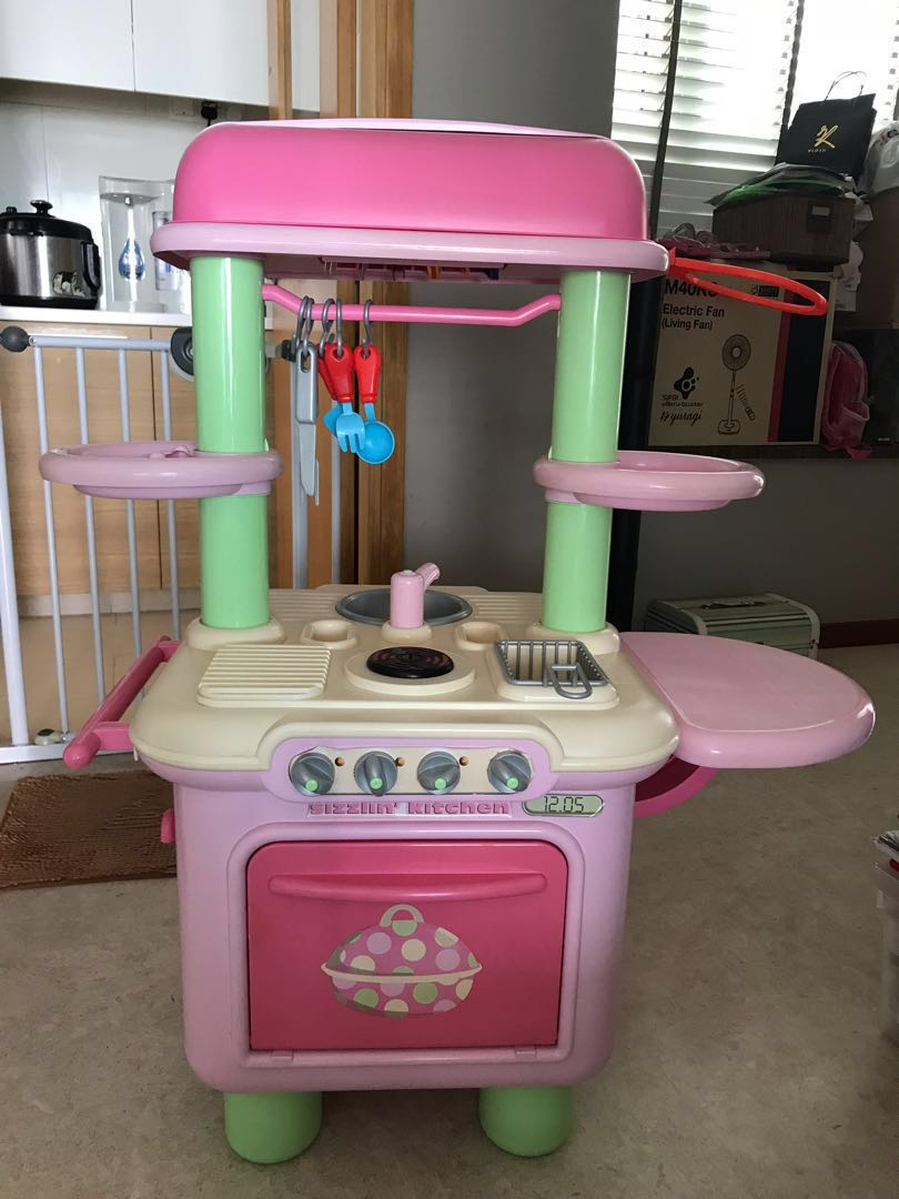 Elc Kitchen Set Pink Toys Games Others On Carousell