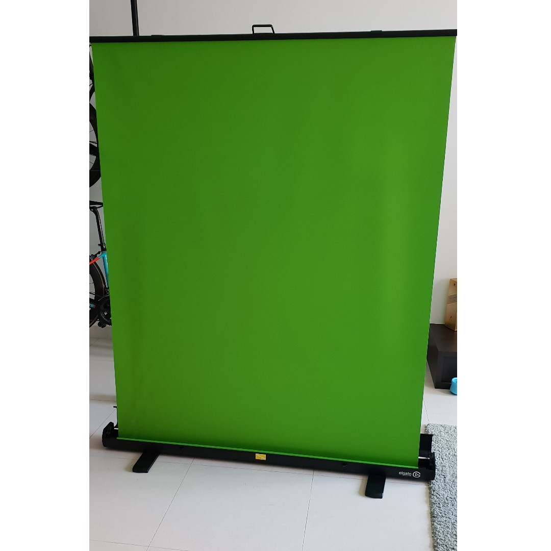 elgato green screen  Elgato Gaming Green Screen, Photography, Camera Accessories, Others ...