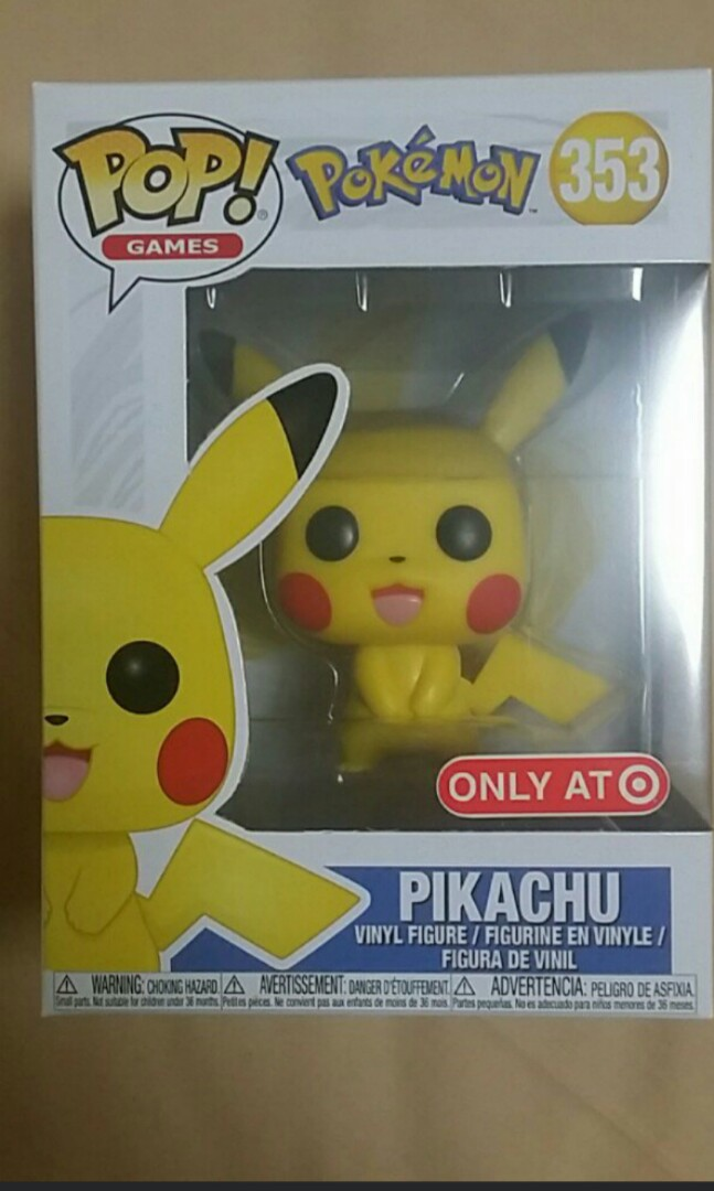 sold out funko pop pokemon pikachu target exclusive toys games