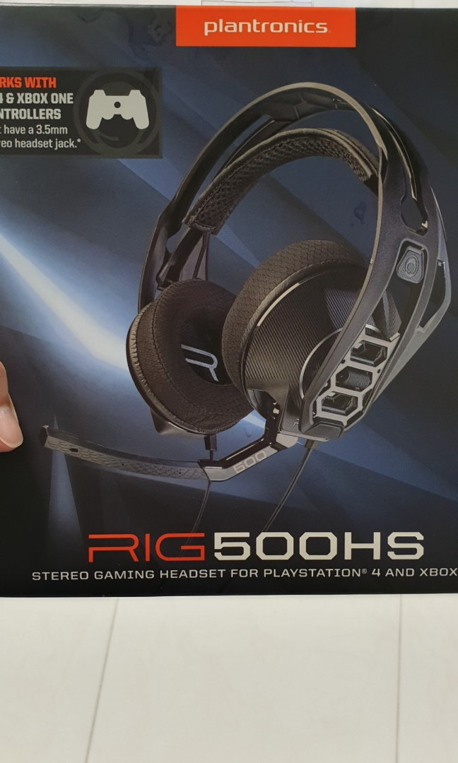 Gaming Headset Plantronics RIG 500HS