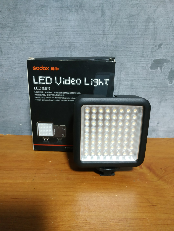 Godox Video Light 64 LEDs