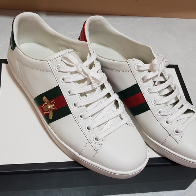 fb09337dfe4 100% Authentic Gucci Ace sneakers