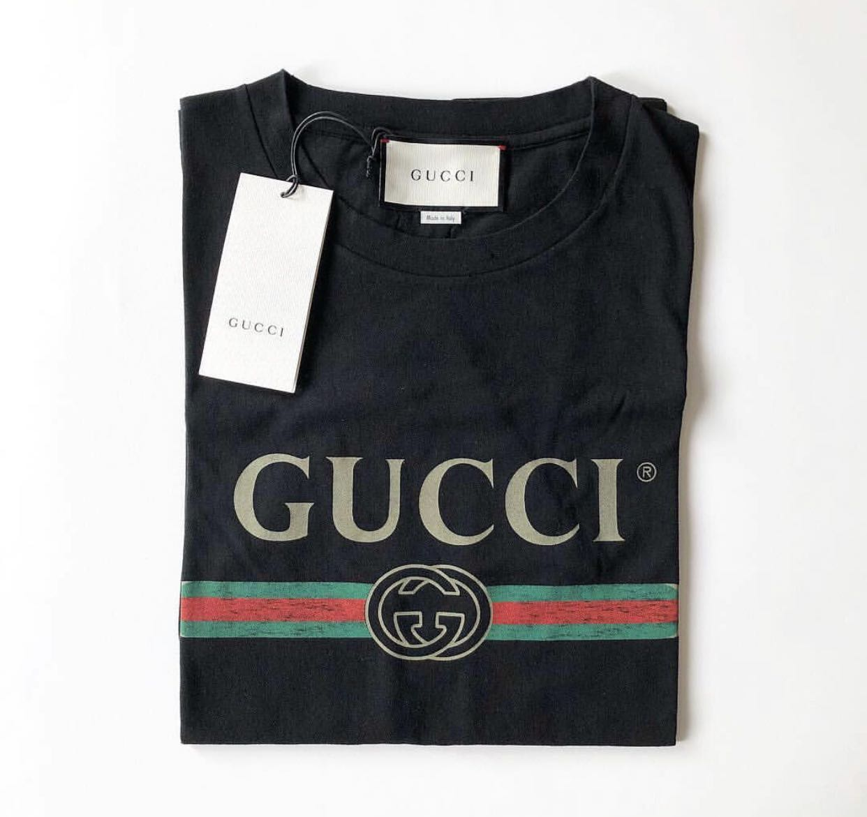 77dbe8375 Gucci tee shirt [SALE], Luxury, Apparel, Women's on Carousell