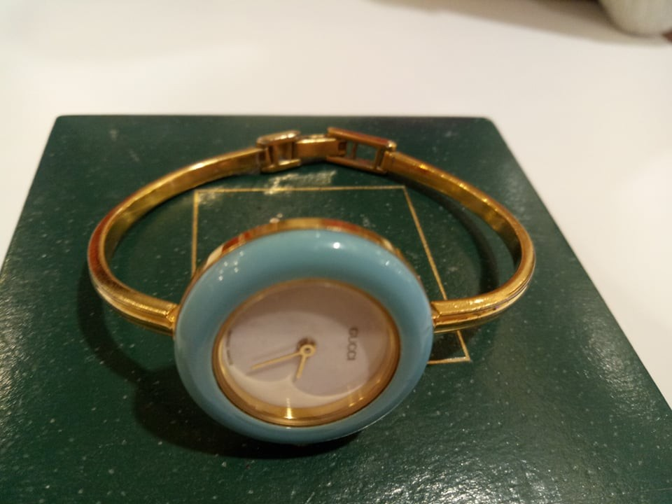 24a8f7ee721 REPRICED!!! Gucci Vintage Timepiece Bracelet Watch