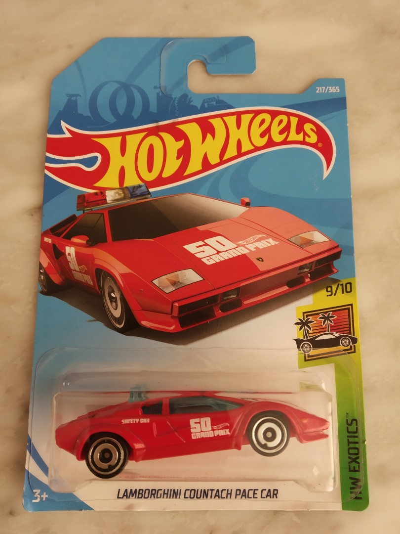 Hot Wheels Lamborghini Countach Pace Car Toys Games Others On