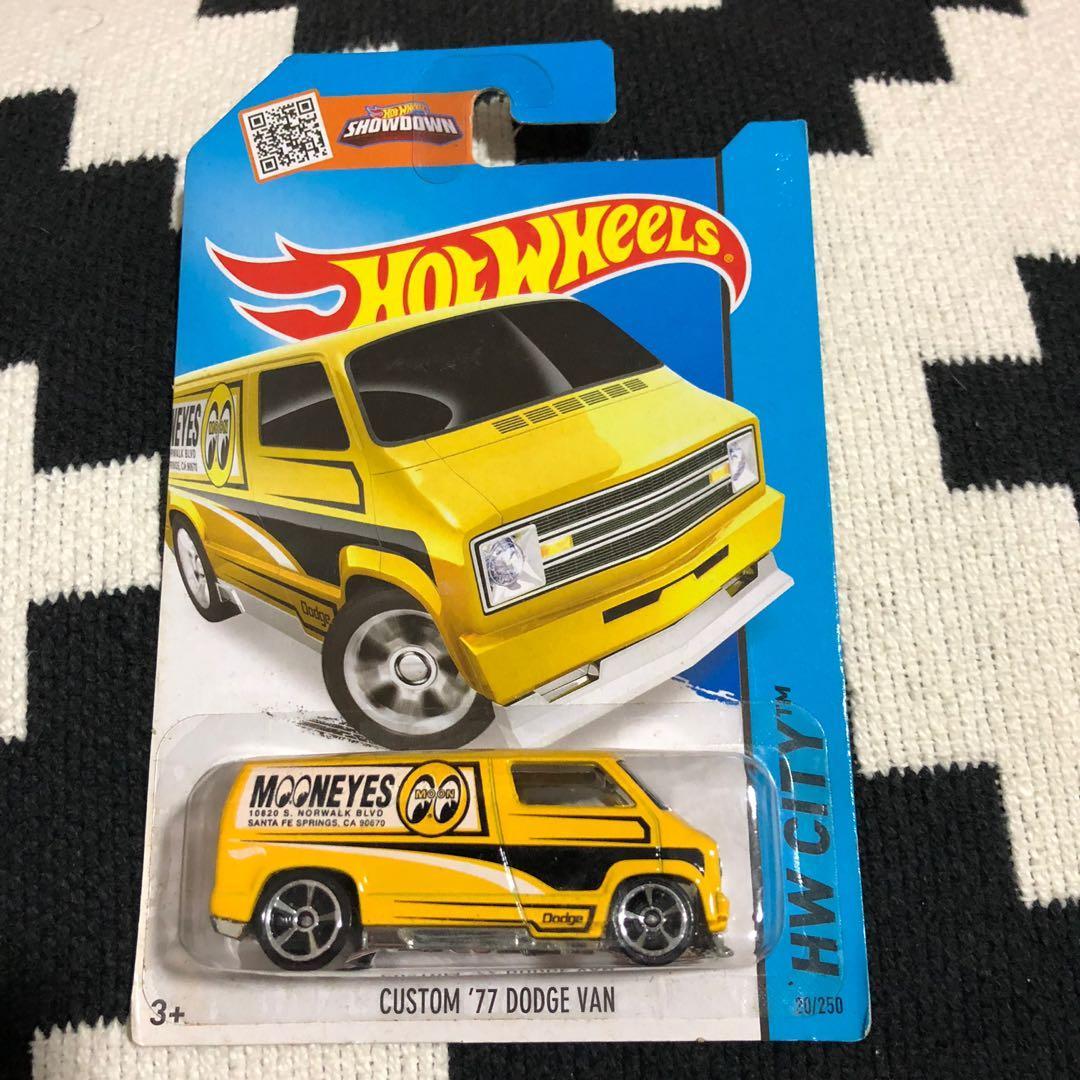 Hotwheels Custom 77 Dodge Van Toys Games Other Toys On Carousell