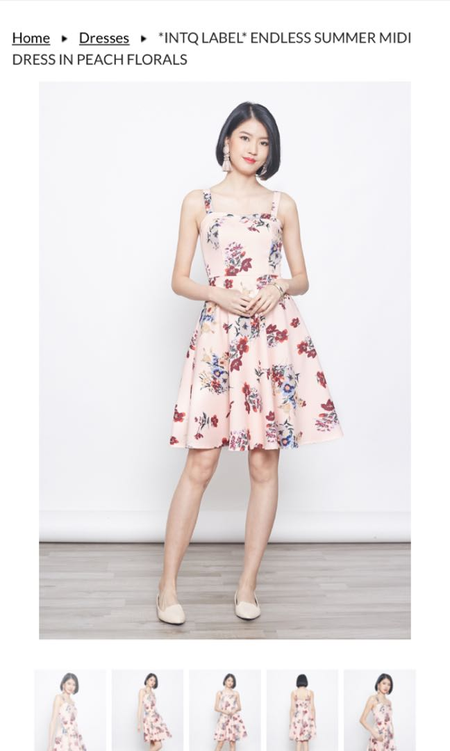 07a38e6fec5 Intoxiquette Floral Dress, Women's Fashion, Clothes, Dresses & Skirts on  Carousell