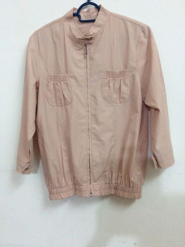 Jacket dusty pink