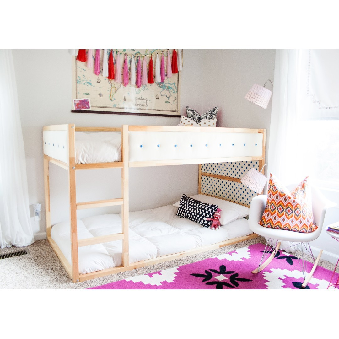 Kids Loft Bunk Bed Low Height Furniture Beds Mattresses On
