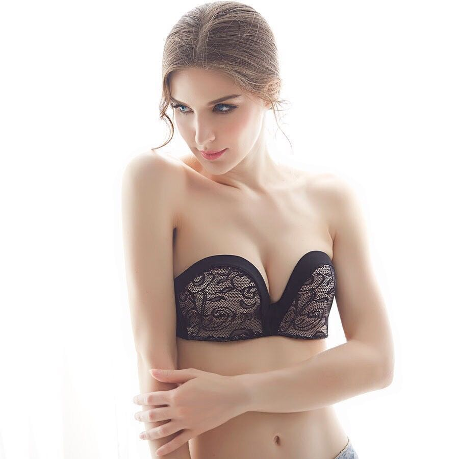 ea85d938fe9 Korea Preorder  POPULAR Invisible Strapless Push Up Bra in Korea ...