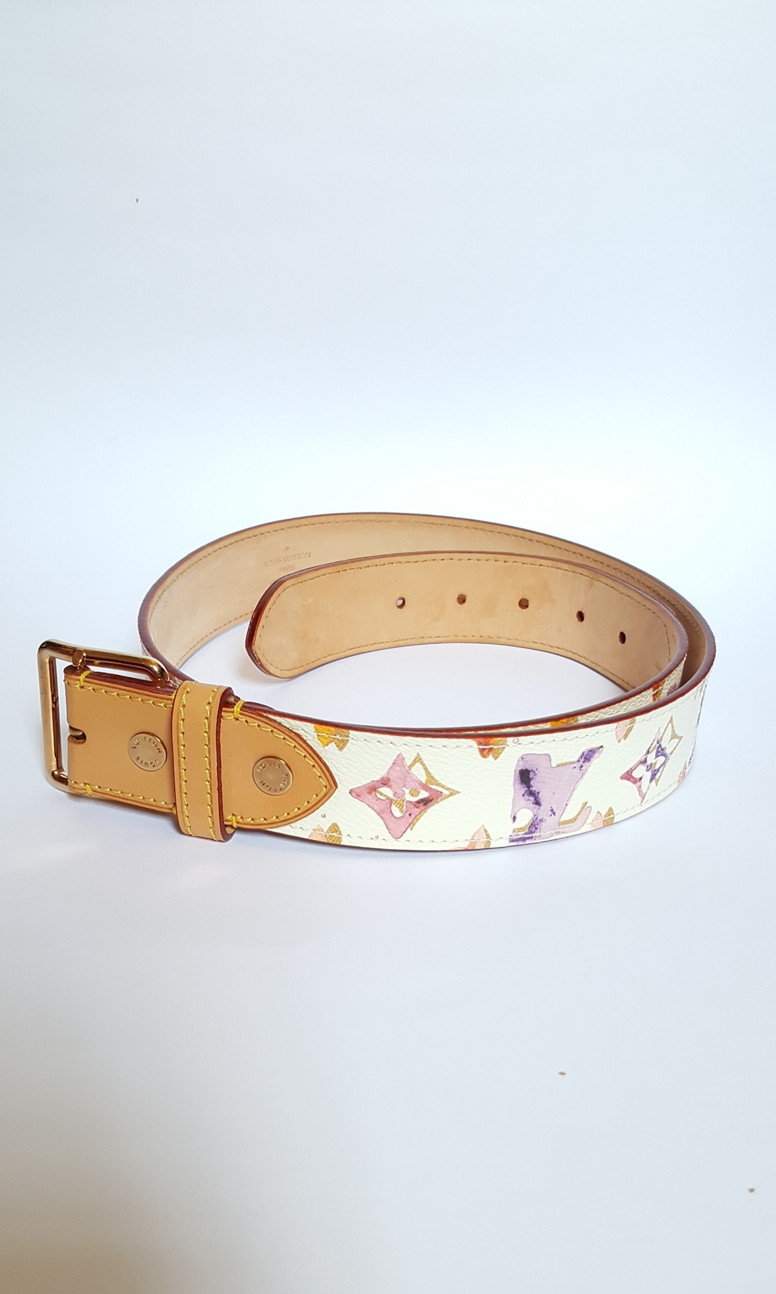 7f86430348af Limited Edition Louis Vuitton belt