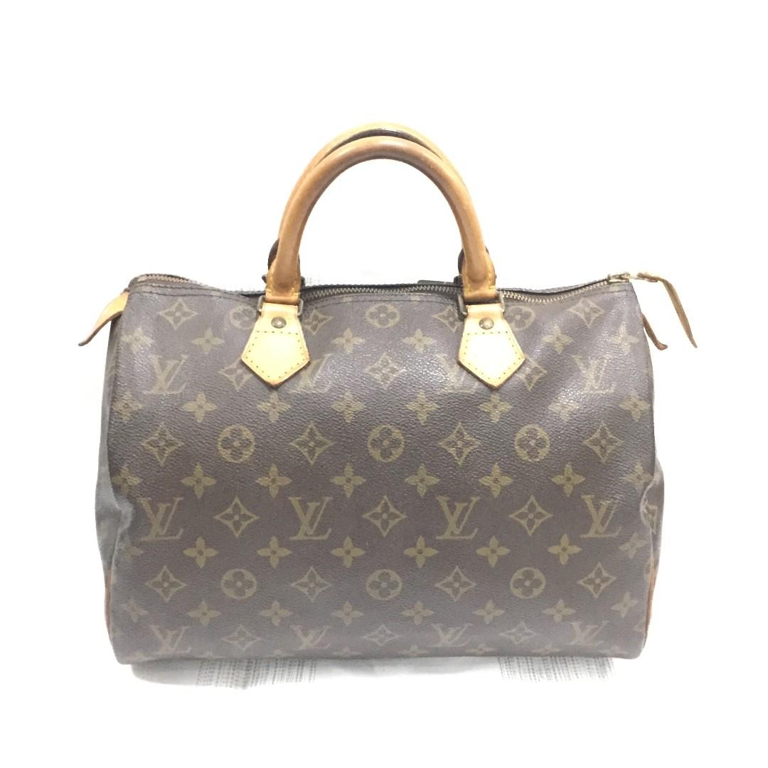de7ac5139364 Louis Vuitton Monogram Speedy 30 Hand Bag