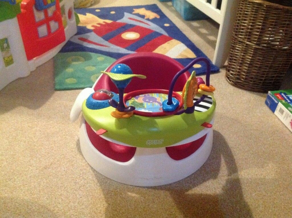 Mamas & Papas Baby Snug Seat And Activity Tray With Adjustable Features And Easy Baby