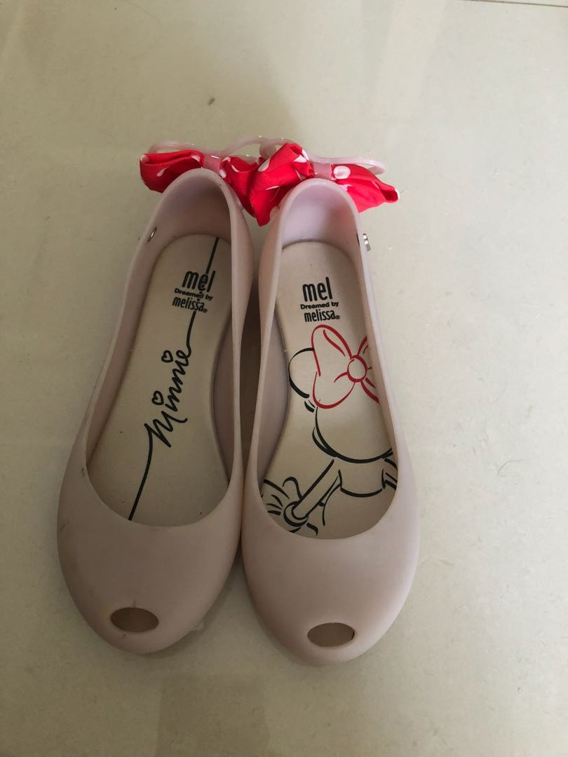 e2e42072067c Minnie Mouse Melissa Shoes size USA 1  EUR 32 (about 7-8yo)