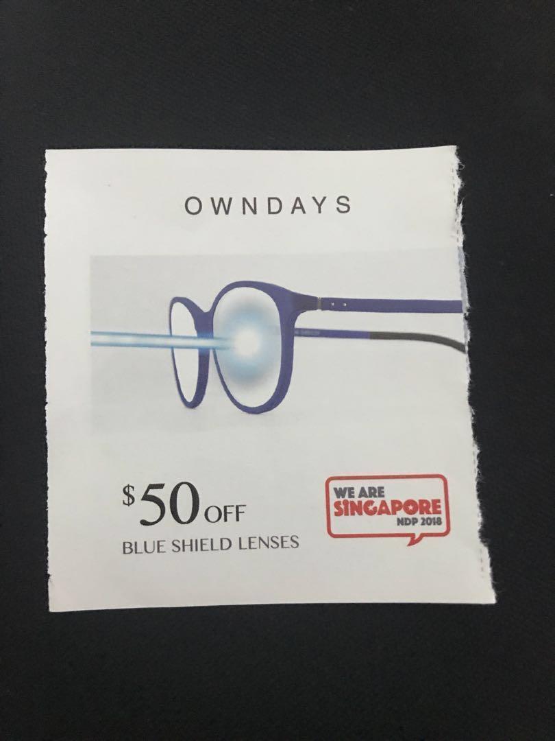 Owndays NDP vouchers