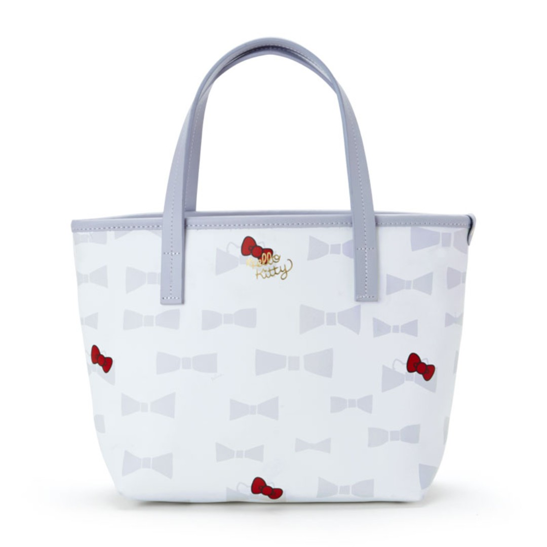 8c88adda2b30 PO  Sanrio Japan Hello Kitty Plune Tote Bag S Ivory