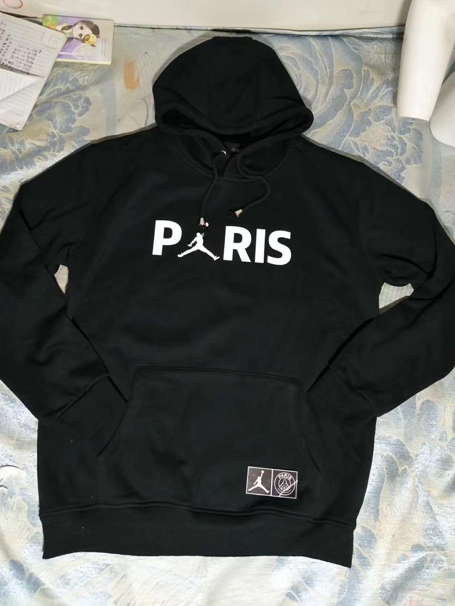50b65bebb9dbea PSG Jordan hoodie!! Available in black