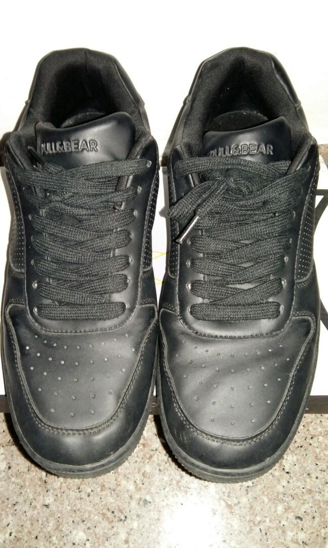 8e6f5c8d92e8 Pull   Bear Black Sneaker
