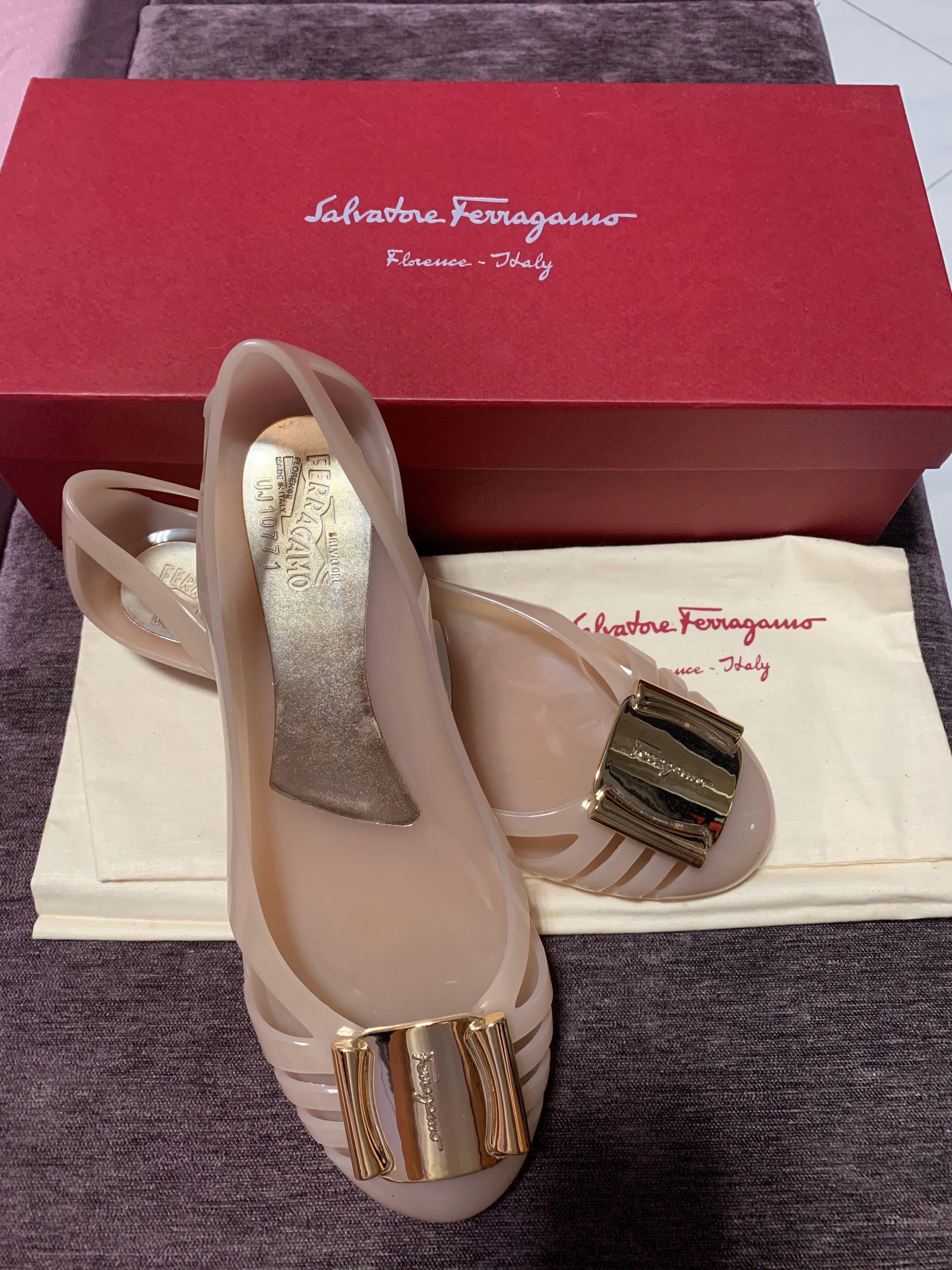Salvatore Ferragamo Bermuda Jelly Shoe