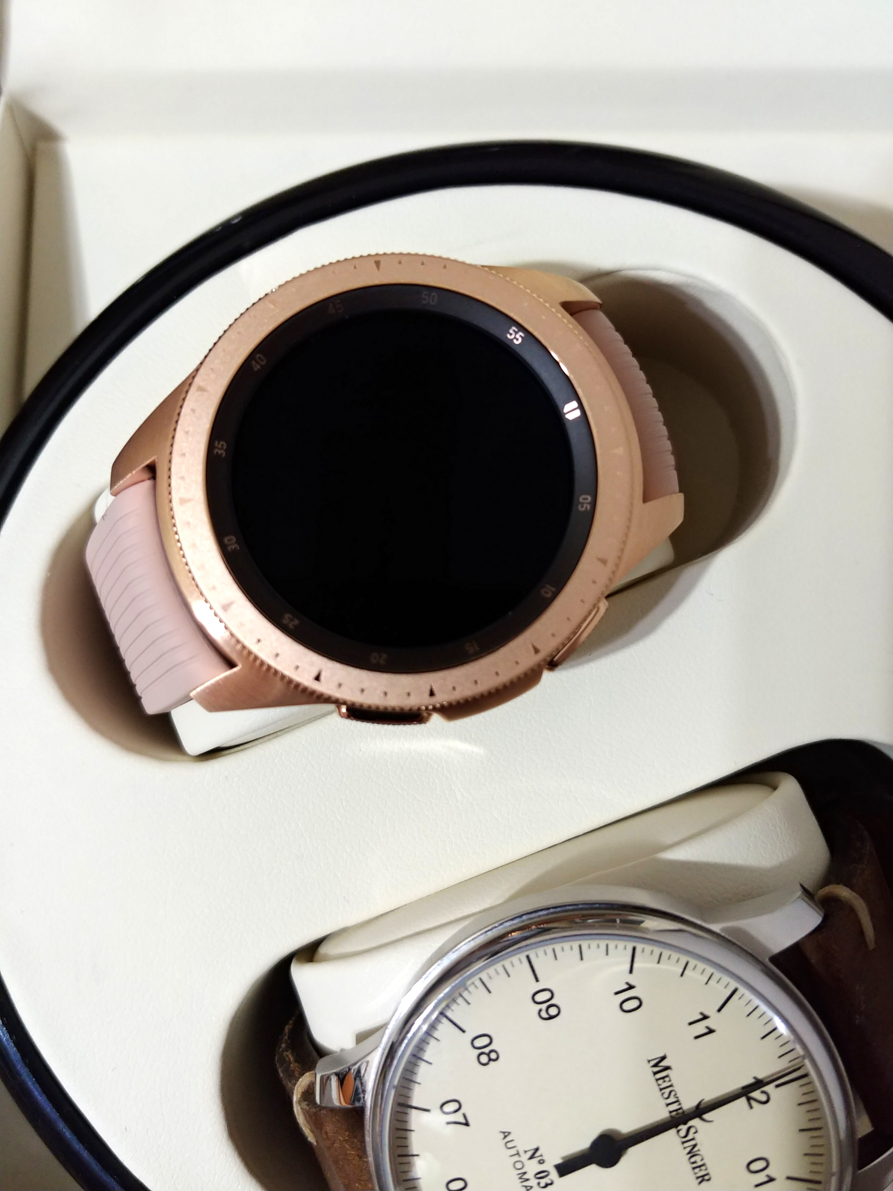 Samsung Galaxy Watch 42mm Rose Gold Electronics Others On Carousell