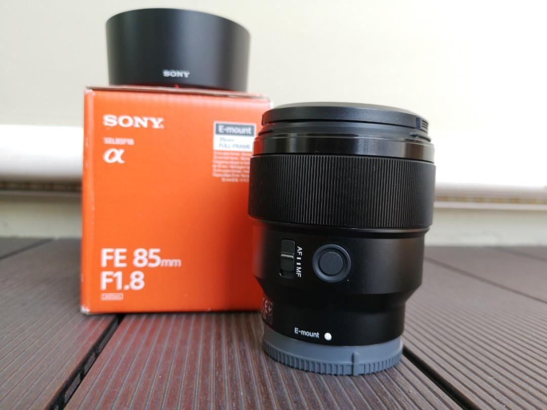 Sony 85mm f/1 8 FE lens for Sony A7 series, Photography