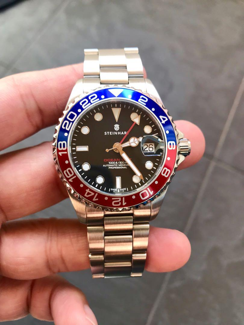 Steinhart ocean one gmt