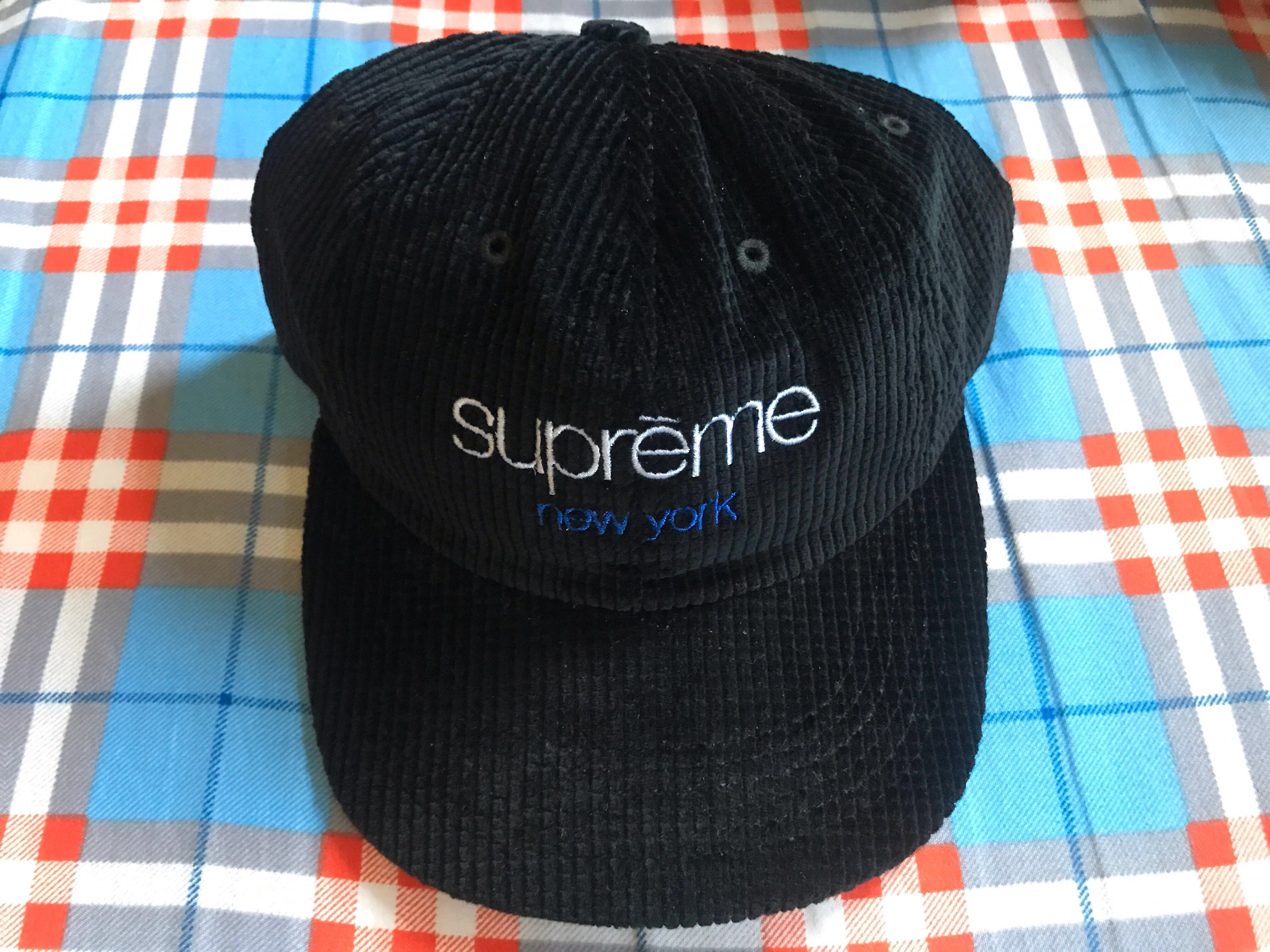 Supreme Waffle Cord Classic Camp Cap 64467d152acd