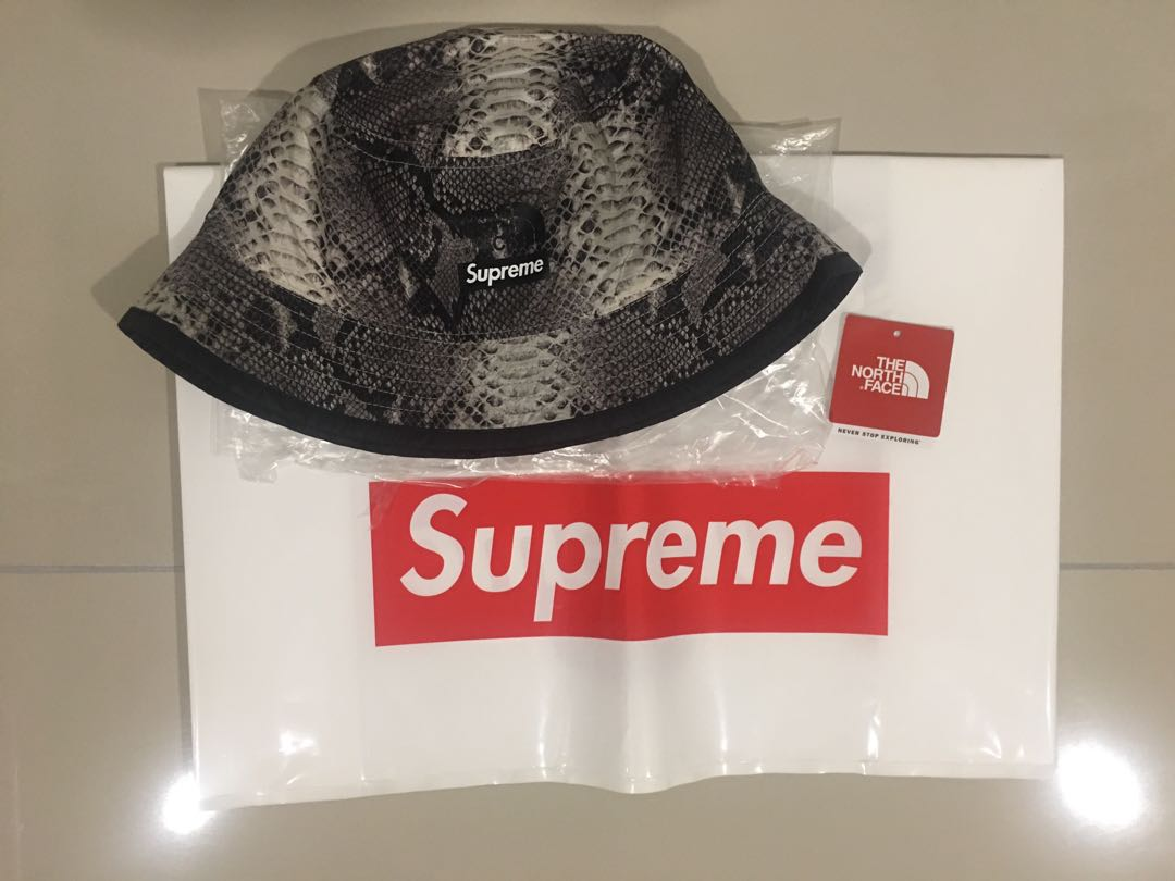 11a5f7eb0c0c Supreme® TNF® Snakeskin Packable Reversible Crusher