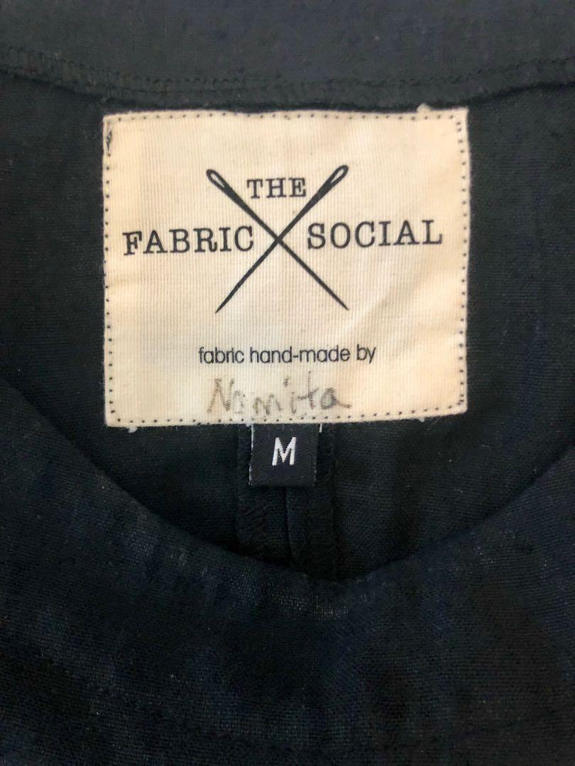 The fabric social black dress, size M (ethically made)