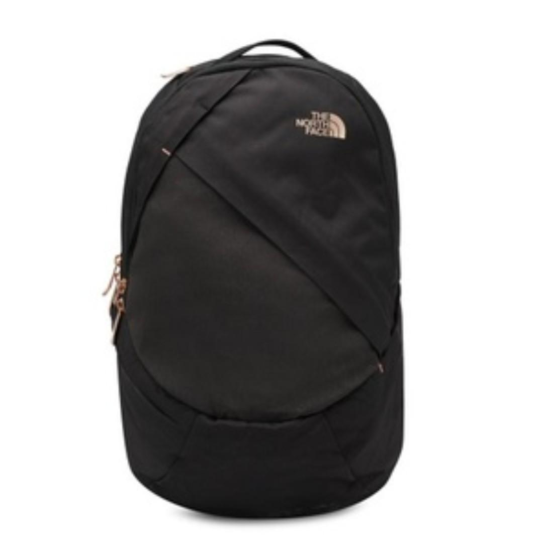 17445d42c The North Face Isabella Daypack Backpack Black Heather Rose Gold ...