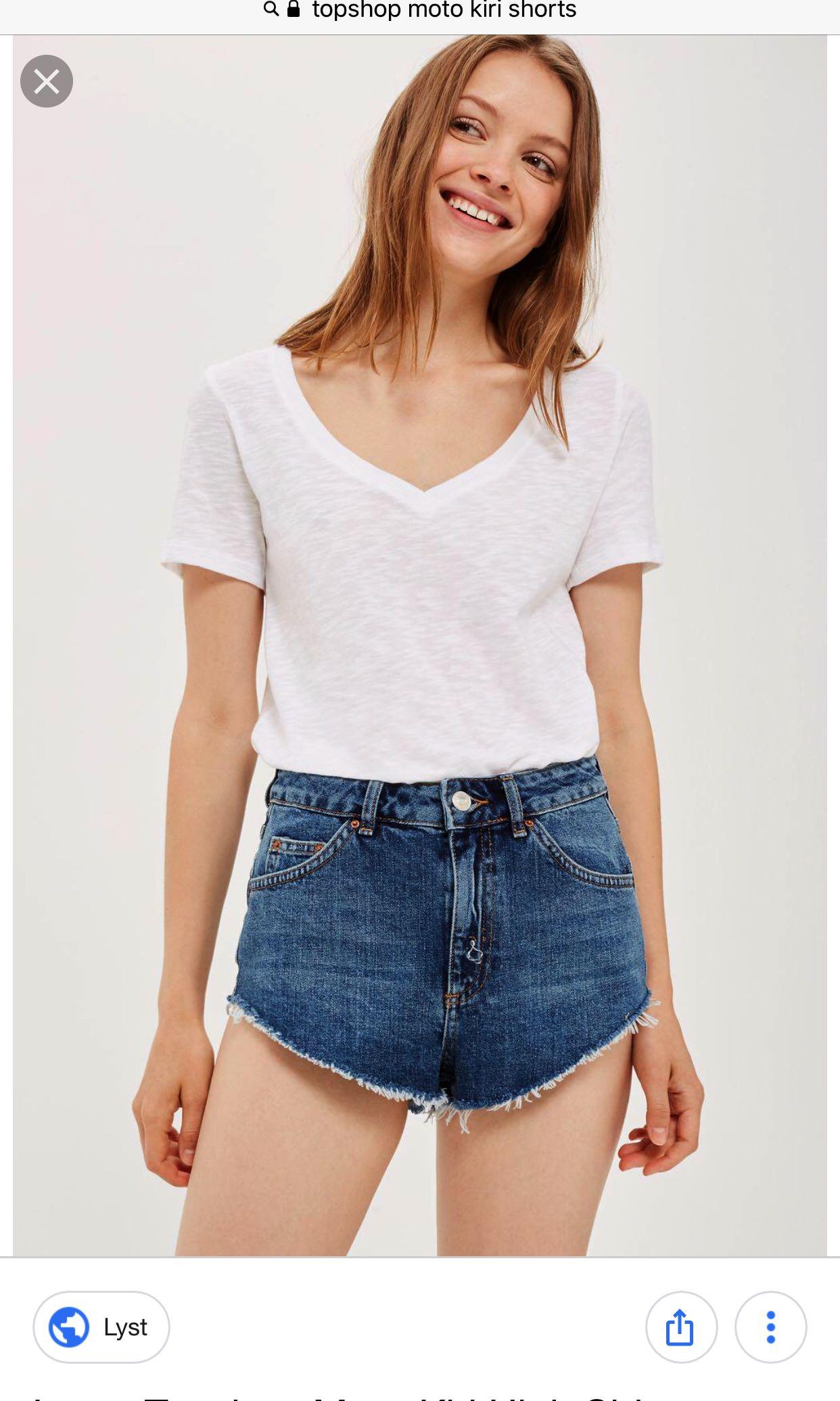 052007414 TOPSHOP MOTO Kiri Shorts, Women's Fashion, Clothes, Pants, Jeans ...