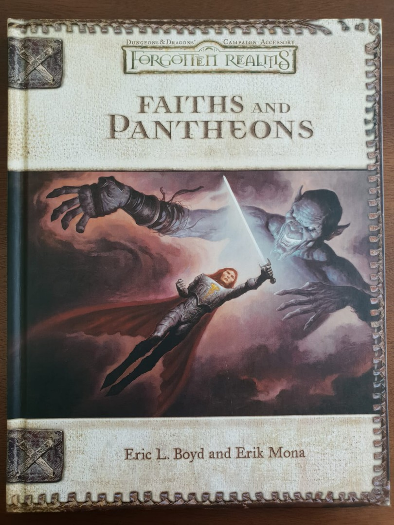 Hardcover TSR Forgotten Realms, Faiths and Pantheons