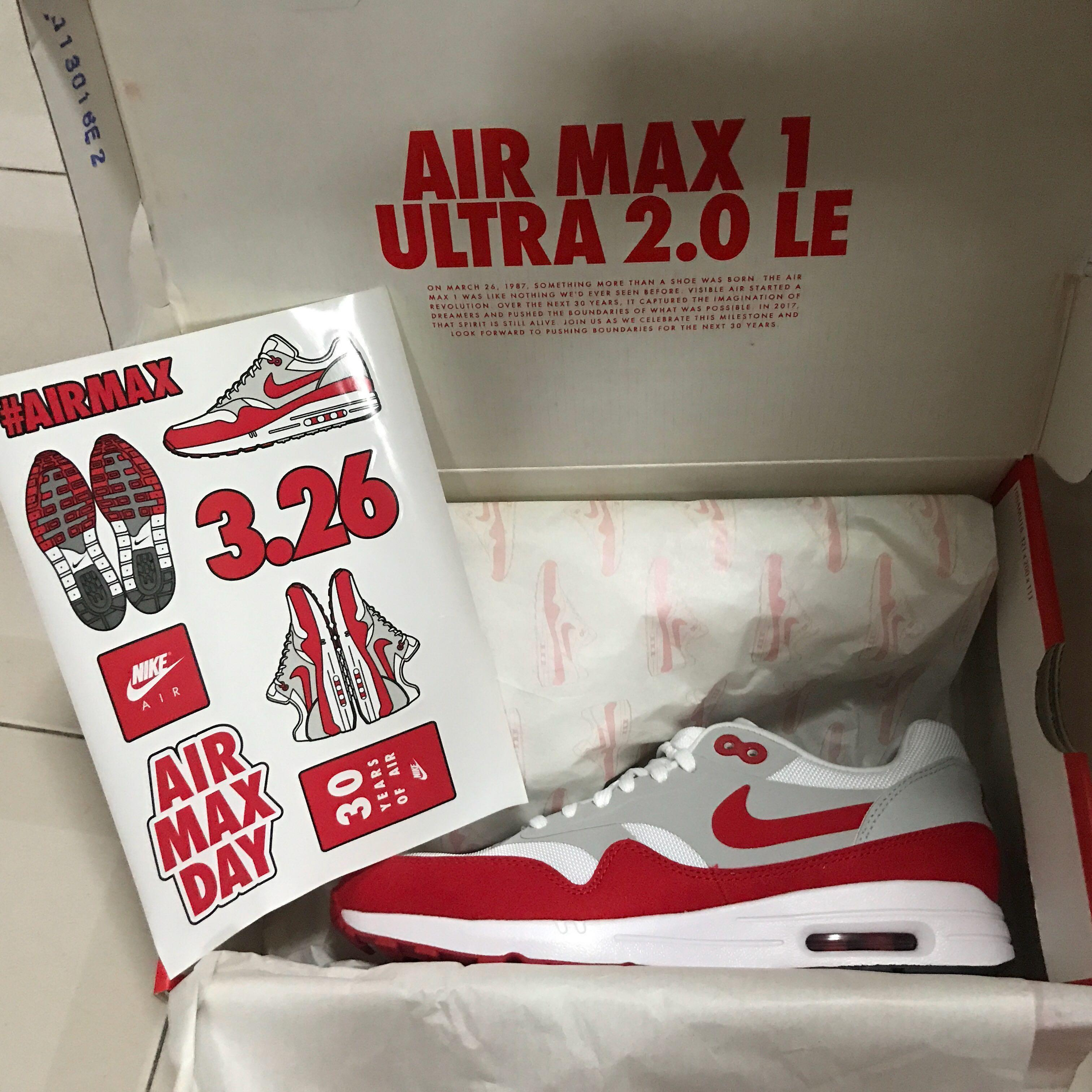 US8.5 Nike air max 1 ultra 2.0 le limited edition, Women's