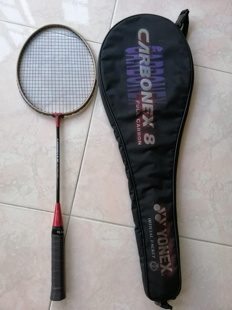 Yonex Carbonex 8 Sp Badminton Racket Sports Sports Games Equipment On Carousell