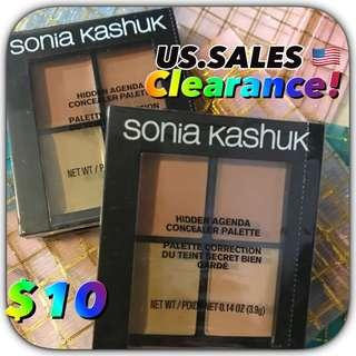 Stock clearance- Sonia Kashuk Hidden Agenda Concealer Palette Medium 08